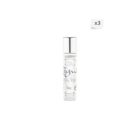 Lot de 3 eaux de parfum roll-on Fleur de vanille  3 x 5 ml