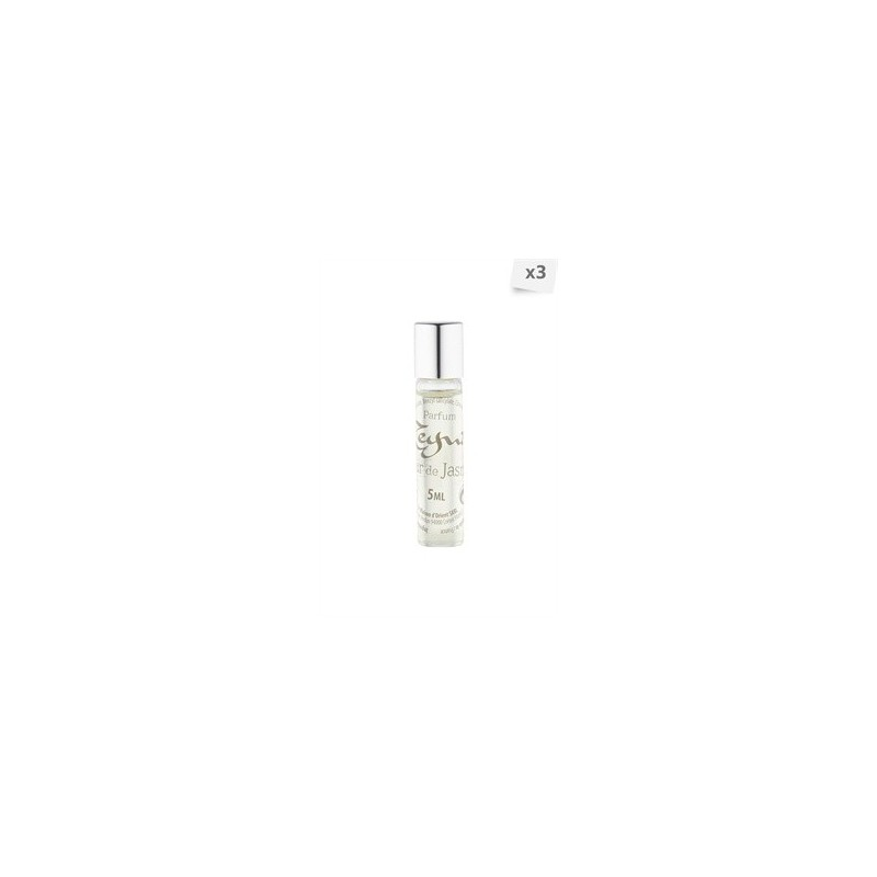 Lot de 3 parfums roll-on Fleur de jasmin 3 x 5 ml