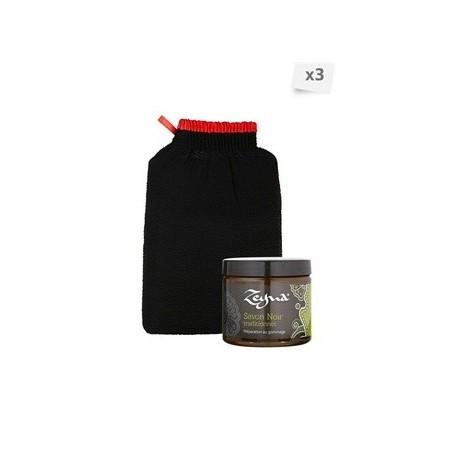 Coffret gommage Savons noirs et gants kessa